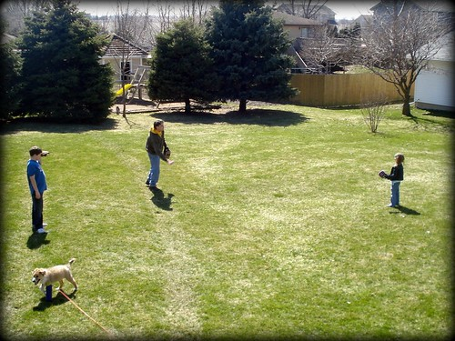 Spring softball practice 2