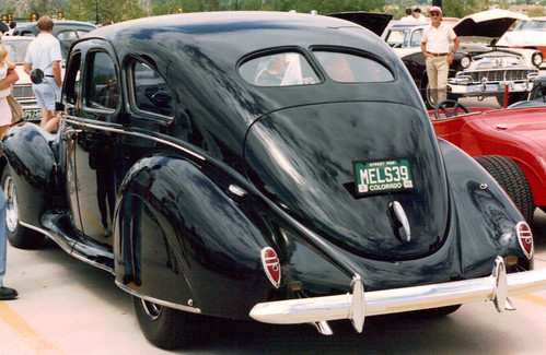 LINCOLN Zephyr (1935-1942) | CAR SPOTTERS Guide (See Discussion ...