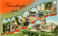 Greetings from Missouri Postcard_img854 (Wampa-One) Tags: old vintage postcard mo missouri statecapitol jeffersoncity bigletters largeletterpostcard curtteich theshowmestate greetingsfrommissouri