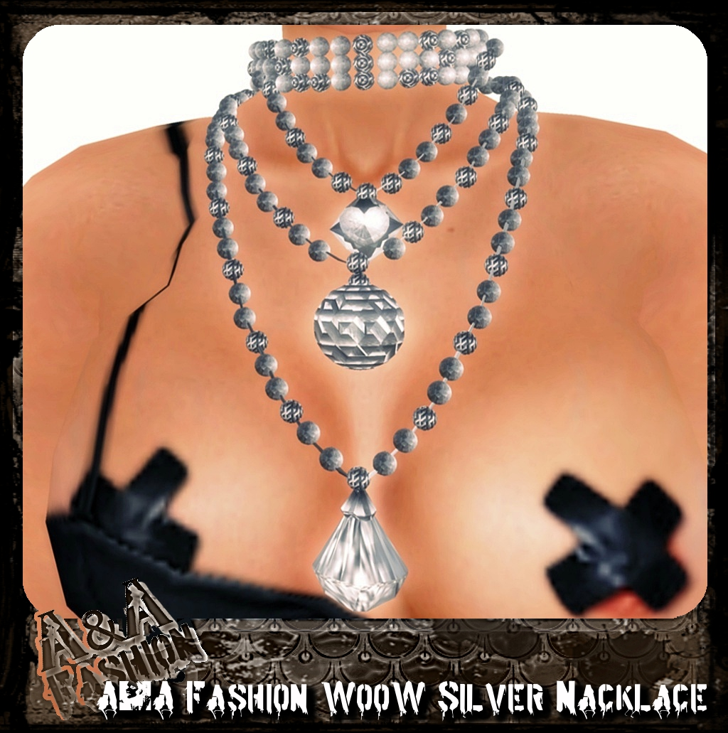 A&A Fashion WooW Silver Nacklace