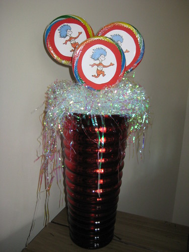 thing 1 thing 2. Thing 1 Thing 2 Centerpiece