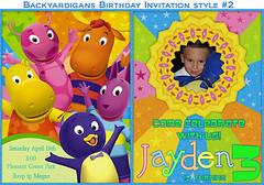 backyardigansbirthday2 (ekwdesigns) Tags: birthday party photo backyardigans personalizedbirthdayinvitation ekwebdesigns