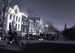 Westerkerk (doctorbob) Tags: holland netherlands amsterdam bicycle westerkerk doctorbob