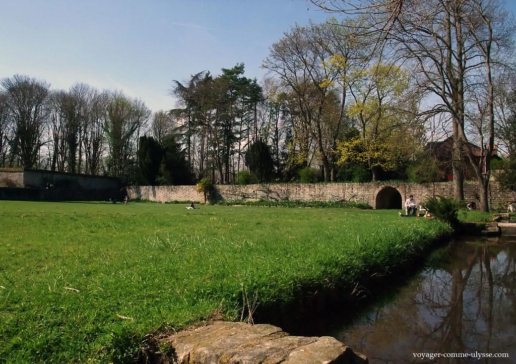 Avon est proche de la forêt de Fontainebleau