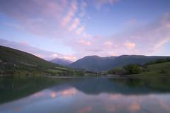 LAGO di fiastra (Andrea Morico) Tags: sunset landscape nikon tramonto alba wideangle tokina1224 tokina paesaggio 1224 d90