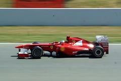 Fernando Alonso   Ferrari 150 Italia   F1 GP Spain 2011 05014 (antarc foto) Tags: gp spain 2011 circuit de catalunya formula fernando alonso ferrari 150 italia formula1 montmeló f1 formulaone barcelona barcelone 5