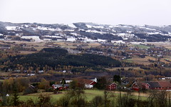 First snow. (BeateL) Tags: snow gran sn oppland granphadeland hotellhadeland