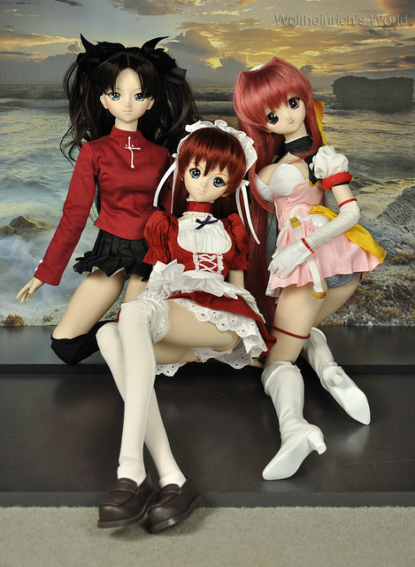 Dollfie Dream DD娃娃 Asuka アスカ エスカレイヤー 遠坂 凛Panchira