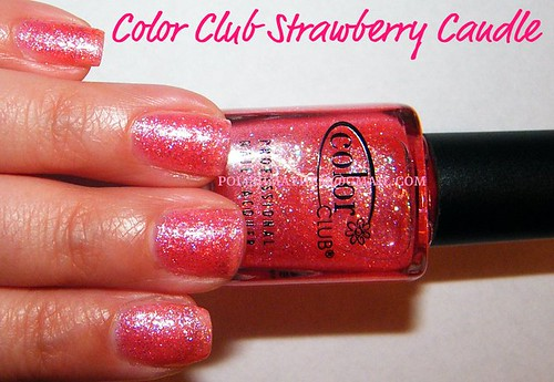 Color Club Strawberry Candle