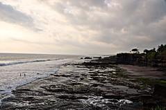 Tinah Lot Coast (rosswebsdale) Tags: sunset sea bali cloud sun rock indonesia temple coast arch indo 2009 bintang tanahlot seminyak