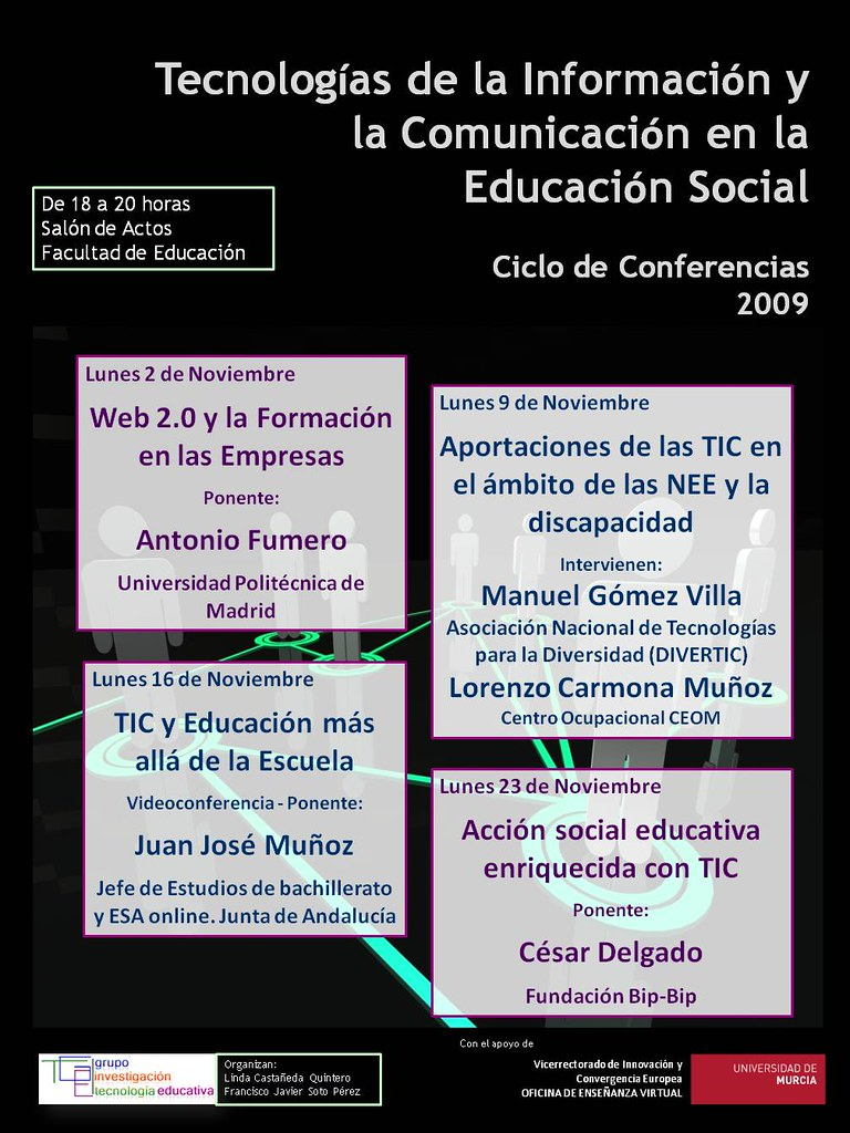Cartel del Ciclo de Conferencias