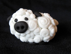 sheep_cupcaketopper (ArtisanCakeCompany) Tags: animal cake oregon portland farm weddingcake sugar cupcake bakery edible toppers artisan bakeries fondant artisancakecompany