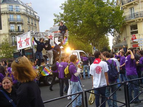 Pub Gala de Sup Elec Rue Soufflot Paris -Octobre 2009