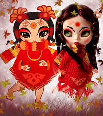 Shayana, an Illustration becomes a Blythe