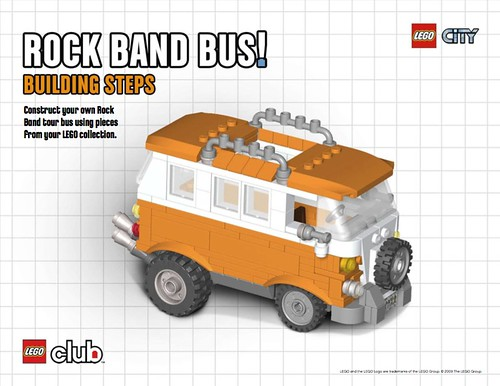 LEGO Rock Band Bus