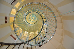 278 Spiralling Step´s of the Amedee Lighthouse