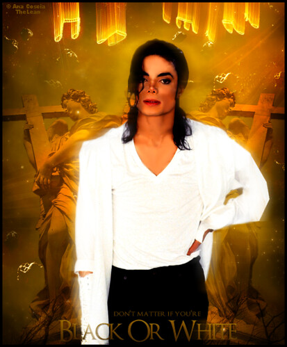 Michael Jackson - Black Or White . Para B! by TheLean.
