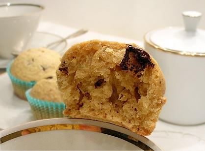 muffins alle nocciole cioccolato e caffè_