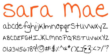 click to download Sara Mae