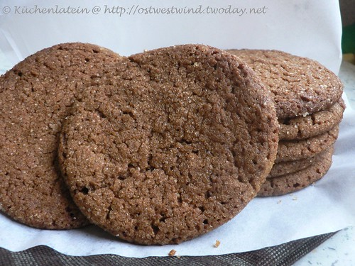 Gewürz-Cookies mit Sirup und Zuckerkruste 002