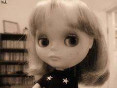 black & white Ashlee.