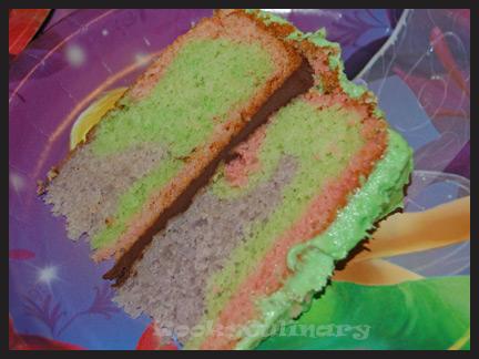 Tinkerbell Teapot Cake