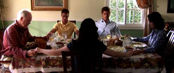 Dexter Família Mitchell Thanksgiving