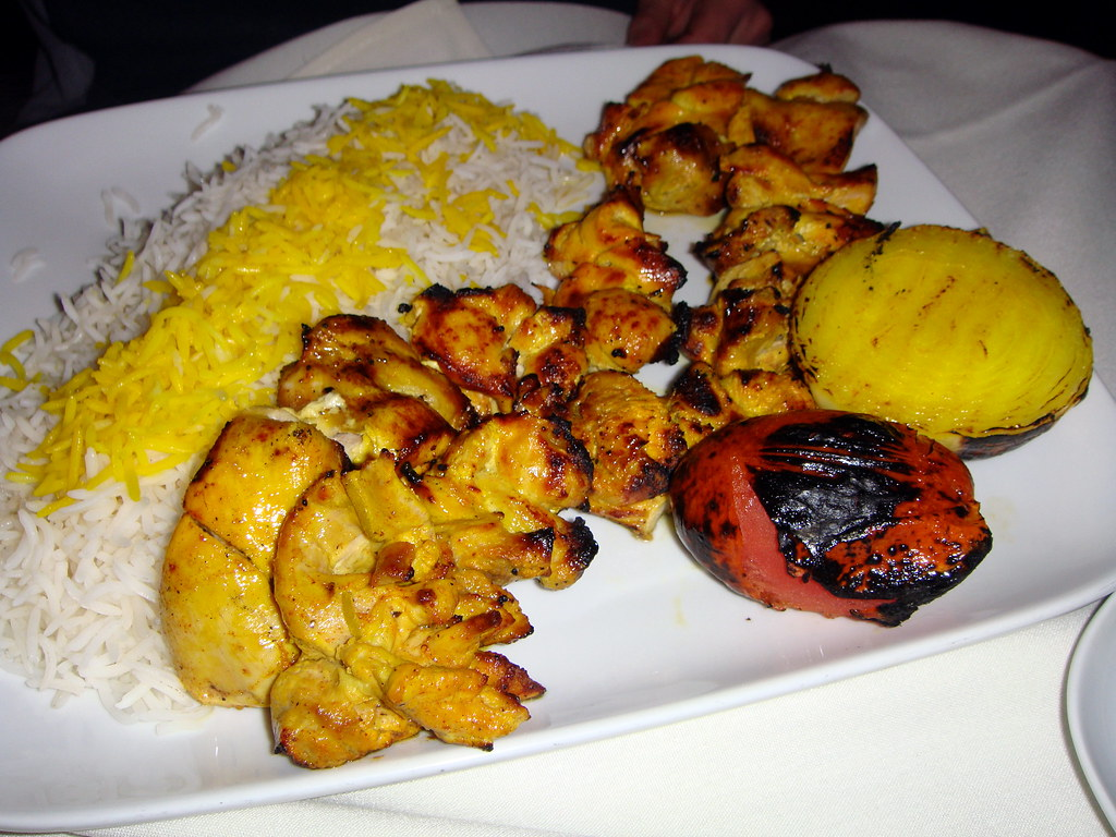 Chicken Kabob Platter