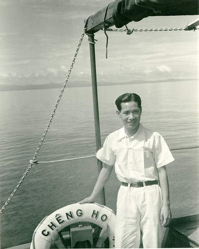 Sam, cabin boy aboard the Cheng Ho