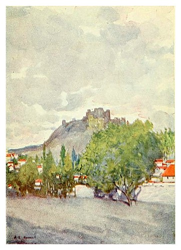 010-Through Portugal 1907- A.S. Forrest- El castillo en Leiria