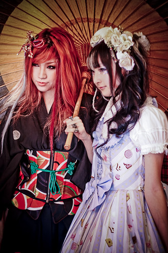 Harajuku lolita girl shoot
