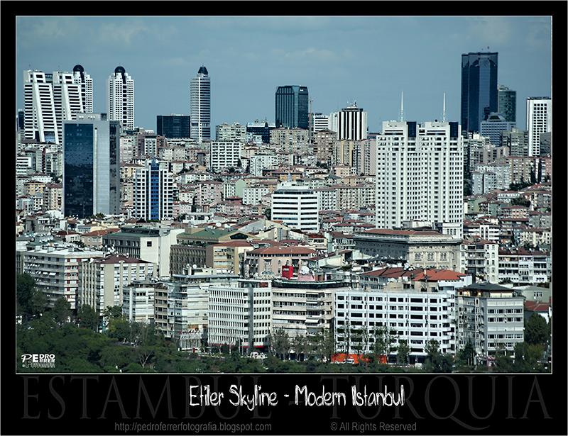 Etiler Skyline - Istanbul