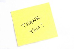 thanks (popcornfeet) Tags: white yellow thanks writing handwriting paper notebook point reading office do message post personal you sticky letters working pad postit it stack appreciation announcement business note thank organizer gift backgrounds scrawl stick sheet presentation script reminder scratched adhesive information attached gratitude exclamation scribble appreciate correspondence aquare notify