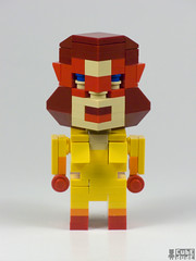 CubeDude Firestar (MacLane) Tags: lego spiderman firestar spidermanandhisamazingfriends legomoc cubedude cubedudes angelicaangeljones