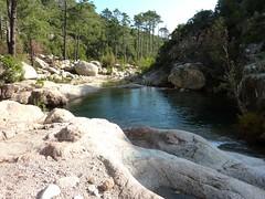 Canyon de Carciara par les ruisseaux de Mela/Carciara : les vasques du Mela