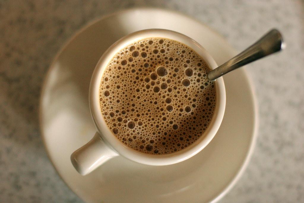 Cafe au lait, $1.82, Cafe du Mond