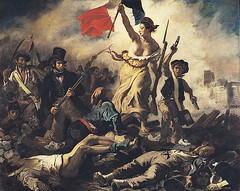 Eugène Delacroix-La liberté guidant le peuple