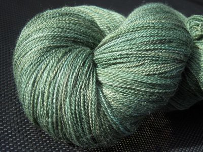 Hand dyed lace yarn by TreasureGoddess