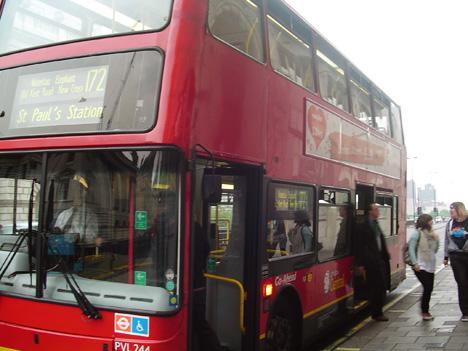 Ônibus em Londres 2