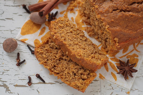 Slices of Pumpkin Bread