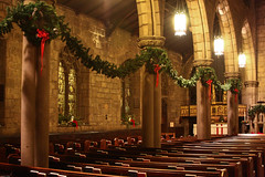 St. Mark's at Christmas (Harpo42) Tags: old philadelphia church beautiful stone 1800s landmark historic philly pew alter pulpit episcopal stmarks centercitywest 17thandlocust