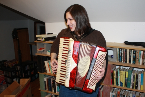 accordion lesson