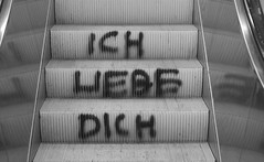 without Judith (lenag_photographee) Tags: berlin love station subway day you tag escalator u valentines iloveyou bahn ich liebe dich ichliebedich dontusewithoutmypermission 2010lenaganssmannphotography