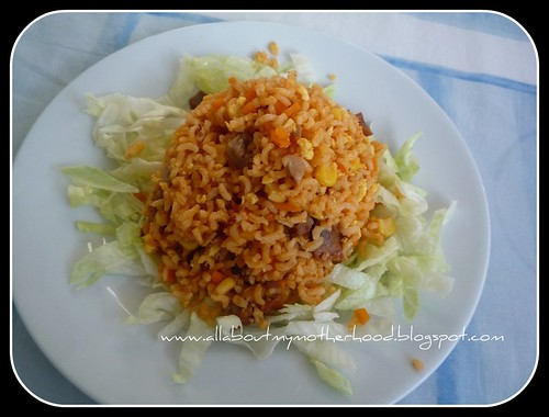 Tomato Ketchup Fried Rice