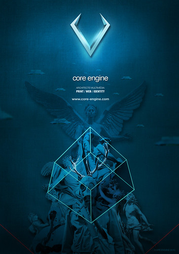 Illustration-Core engine / poster