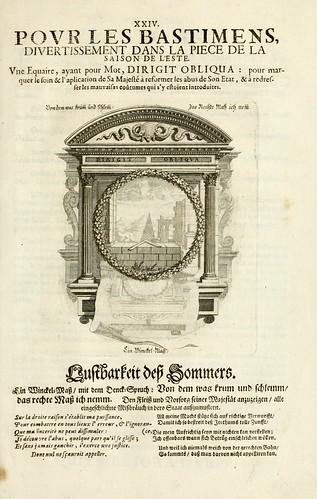 027- Divisa 4 del tapiz primavera-Tapisseries du roy, ou sont representez les quatre elemens 1690- Sebastien Le Clerc