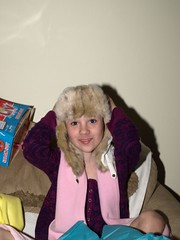 Megan's new Hat (HIRH_MOM) Tags: arizona thanksgivingday 2009 mybeautifuldaughter november27th megan9thbirthday