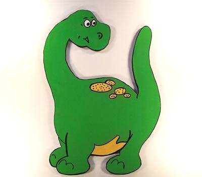 Mas dinosaurios para las habitaciones infantiles