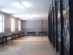 Exhibition in Block 4 (Workspace__25) Tags: winter chimney cold sign urn holocaust wire memorial fences poland electrocution gas medical ashes chamber hanging blocks rudolf jews squad auschwitz arbeit barbed crematorium firing frei execution maximilian macht kolbe oswiecim owicim i hss