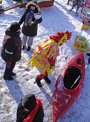 Kayaking Chicken_0166c (MNkiteman) Tags: winter snow minnesota photography minneapolis aerial pole twincities pap powderhornpark hennepincounty artsledrally kayakingchicken